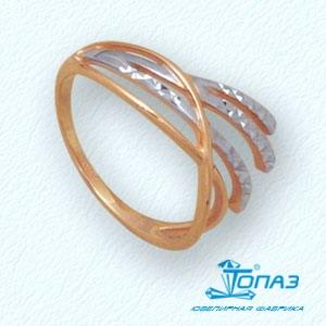 Кольцо из красного золота Линии Любви, Кольцо Т14061972
