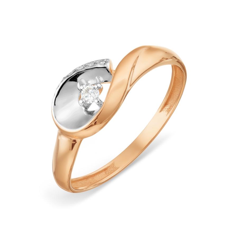 Кольцо с бриллиантами Линии Любви, Кольцо Т141018654