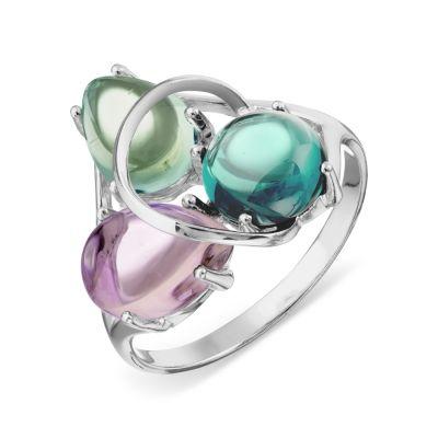 Кольцо с турмалином ситалл, аквамарином ситалл и аметистом ситалл Линии ЛюбвиКольцо<br>Кольцо из серебра 925 пробы (арт. Т742013674-06). Размер 15,5.<br><br>Articule: Т742013674-06<br>Тип: Кольцо<br>Пол: Унисекс<br>Материал: серебро<br>Вес изделия г: 2.63<br>Вставка: None<br>Размеры: 15.5, 16, 16.5, 17, 17.5, 18, 18.5, 19, 19.5, 20