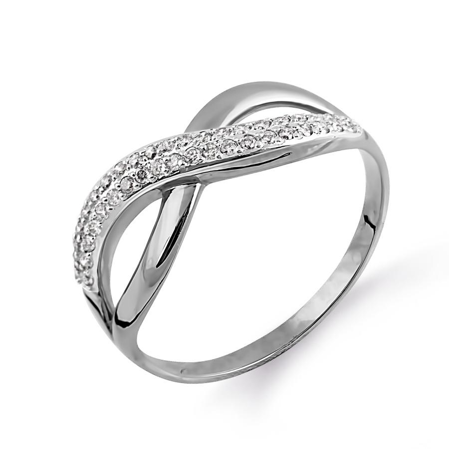 Кольцо с бриллиантами Линии Любви, Кольцо Т301014141