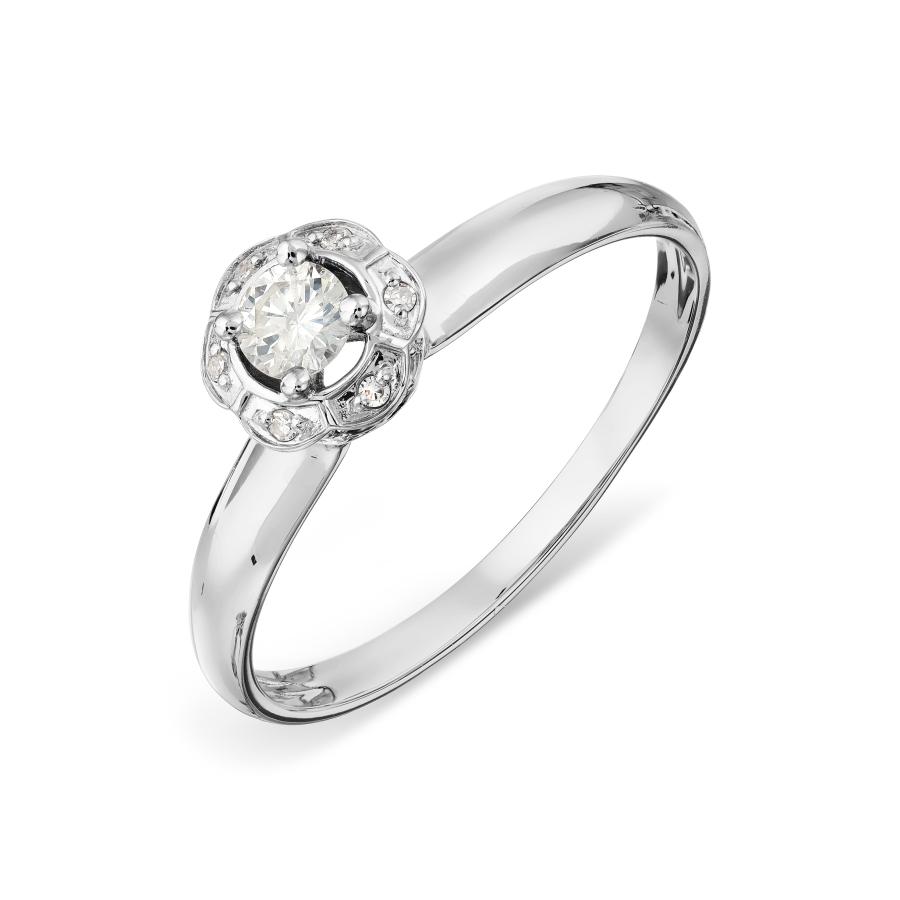 Кольцо с бриллиантами Линии Любви, Кольцо Т301017882