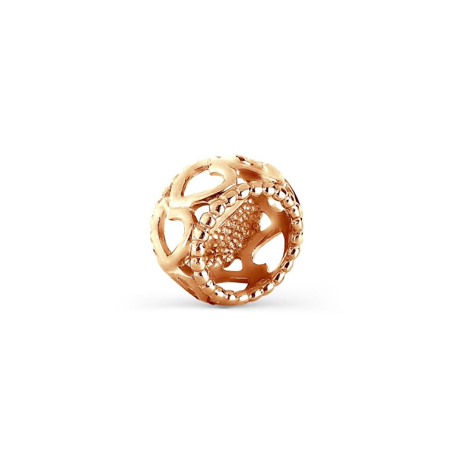 Подвеска из красного золота Линии Любви, Подвески и кулоны Т100034383