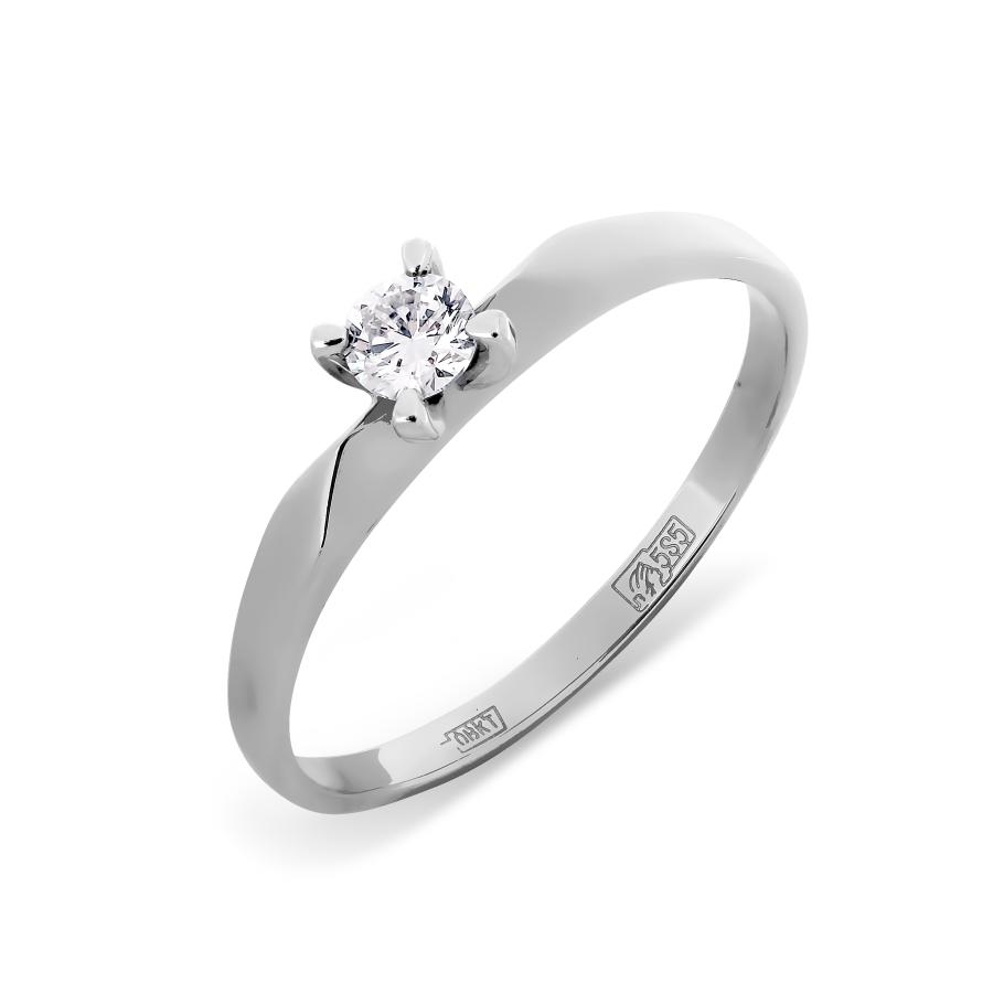 Кольцо из белого золота Линии Любви, Кольцо Т301011321