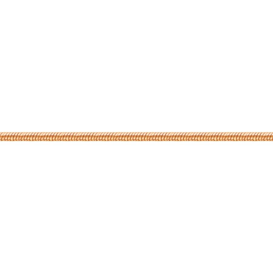 Цепочка из красного золота Линии Любви
