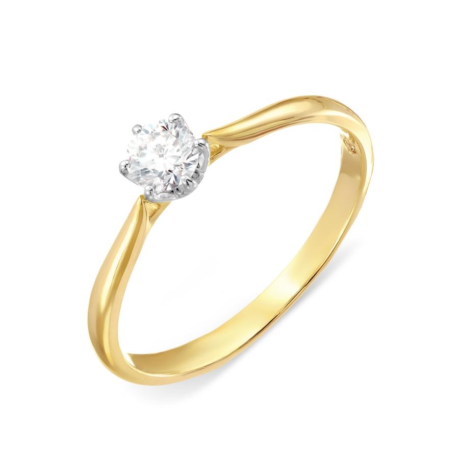 Кольцо из желтого золота Линии Любви, Кольцо Т931017502